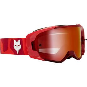 Fox Vue Psycosis Spark Gogle Mężczyźni, czerwony